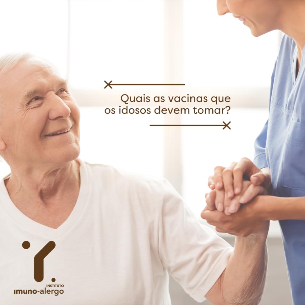 Vacinas que os Idosos devem tomar