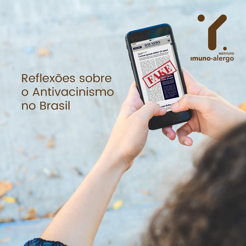 Reflexões sobre o Antivacinismo no Brasil