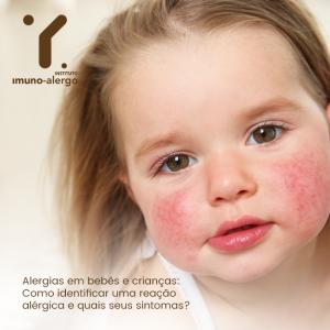 Alergias em bebês e crianças